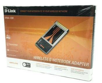 D-Link WNA-1330 54Mbps 802.11g Wireless G Notebook Adapter - NEW