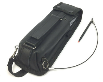 Ecom AS030310 Leather Carry Case With Stylus for i.Roc Ci70 Safe PDA Computer