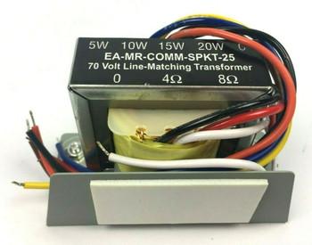 Episode 70V Line-Matching Multiple Taps Commercial Speaker Transformer