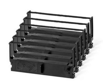 Epson ERC35 Compatible Black Ribbon 6-Pack for Epson Nikko IBM NCR Printers