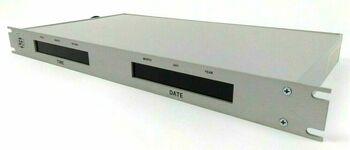 ESE ES-126U Twelve-Digit Time Code Remote Clock Calendar Display