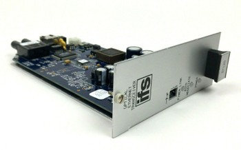 GE Security D7120-R3 10/100 Fiber Ethernet Transceiver Laser 2 Fibers Rack Mount