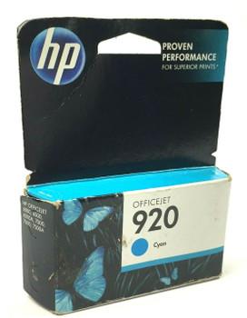 Genuine HP 920 Ink Cartridge Cyan for HP Officejet 6500A 7000 6000