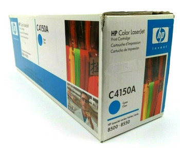 Genuine HP C4150A Cyan Toner Cartridge for HP LaserJet 8500 8550 Printer