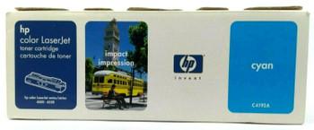 Genuine HP C4192A Cyan Print Cartridge for HP LaserJet 4500 4550