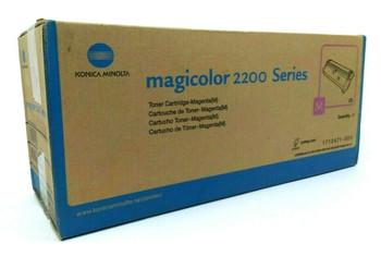 Genuine Konica Minolta 171-0471-003 Laser Toner Cartridge 200 Series - Magenta