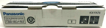Genuine Panasonic KX FA76 Black Toner Cartridge for KX FL501 KX FLM551