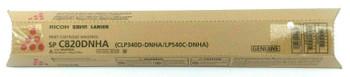 Genuine Ricoh C820 C821 Savin Lanier SP C820DNHA Cartridge 821028 - Magenta
