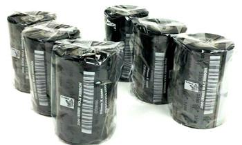 Genuine Zebra 110mm x 450M Thermal Transfer 2100 Series Black Wax Ribbon 12Rolls