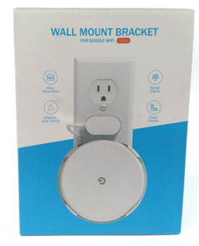 Google WiFi Wall Mount Bracket Holder for WiFi Router and Beacons - 3 Pack