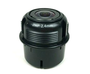 Hanwha Techwin Fixed Focal Lens 2 Mega Pixels 2.4mm SLA-2M2400Q for PNM-9000VQ