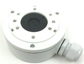 Hikvision CBXS Extra Small Bracket Conduit Base Junction Box for Dome Cameras