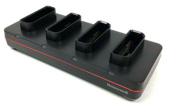 Honeywell 4 Bay Quad Battery Charger CX80-QBC-UV-1 for Honeywell Dolphin CN80