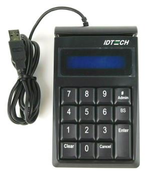 Idtech IDKE-534833ABE Secure Key M130 Encrypted Keypad w/ MagStripe Card Reader