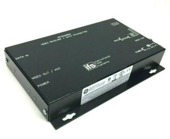 IFS 1000/1000 Mbps Video Receiver + Data Transmitter Converter VR1500WDM