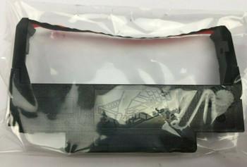 Ink Printer Ribbon Cartridge Black Red X4017521 for Epson ERC 30 & 34 - 6 Pack