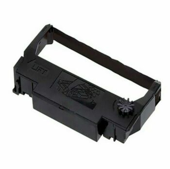 Ink Printer Ribbon Cartridge Black X4017502 for Epson ERC 30 34 & 38 - 6 Pack