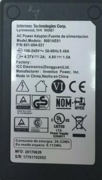 Intermec AC Adapter 7.2W 4.8V 1.5A for CK70 CK71 CN70 CN70E