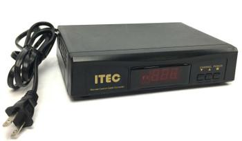 ITEC Remote Control Cable Converter Tuner Box 120V AC 60Hz 500W