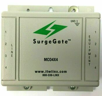 ITW Linx SurgeGate Protects Four Lines RJ-11/45 Connectors ITW-MCO4X4 - NEW