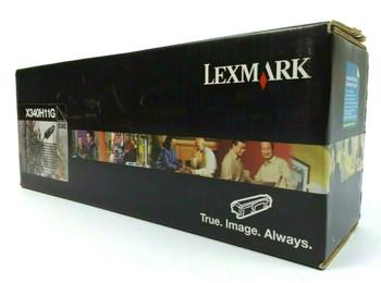 Lexmark X340H11G High-Yield Return Program Toner Cartridge - Black for X340 X342