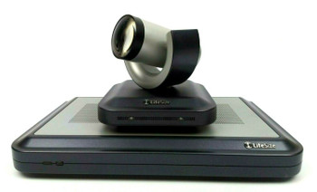 LifeSize Team 200 Video Conferencing System Kit with Camera Remote Mic LFZ-015