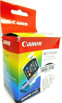 Lot of 2 Genuine Canon BCI-11 Color Ink Cartridge for BJC-50 BJC-70 BJC-80 BN750