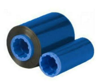 Lot of 5 Zebra 800015-104 Premium Quality Blue Monochrome Ribbon for P330i 430i