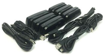 MagTek 21073062 Dynamag Triple Track Magnetic Stripe Swipe Card Reader - 6 Pack