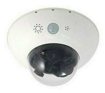 MOBOTIX MX-D15Di-SEC Security Network 6MP Indoor/Outdoor Dome Camera