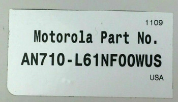 Motorola Indoor Use Radio Frequency Identification Antenna - AN710-L61NF00WUS