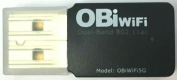 Obihai Dual Band 2.4GHz 802.11ac WiFi USB Wireless Adapter - OBIWIFI5G