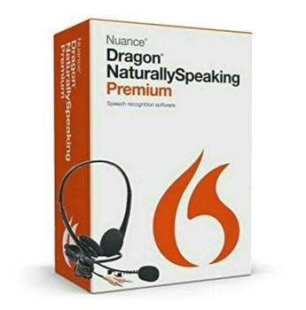 Nuance Dragon NaturallySpeaking V.13.0 Premium Speech Recognition Software