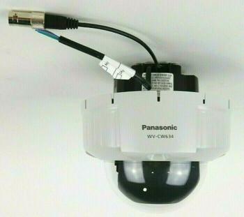 Panasonic WV-CW634F Super Dynamic 6 Vandal-Resistant Flush Mount Dome Camera