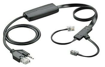 Plantronics APC-43 Electronic Hook Switch Adapter Black for CS500 series