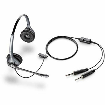 Plantronics Commercial Aviation Headset Wired Connectivity MS260