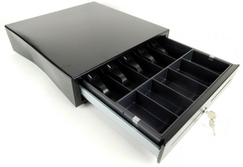 POSligne ART-02142 16'' x 16'' Cash Drawer with Cable and Removable Inserts