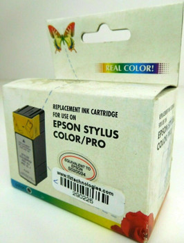 Real Color Black Ink Cartridge for Stylus Color Pro S020034
