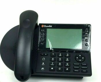 ShoreTel IP480 VoIP Office Phone Black 630-2098-20