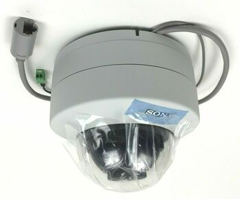 Sony SNC-DH140T Network 720P HD Vandal Resistant Minidome Camera with ViewDR