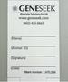 Blood Card-Genetic Testing