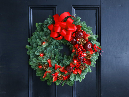 Half Day Wreath Class -Jolly Traditions