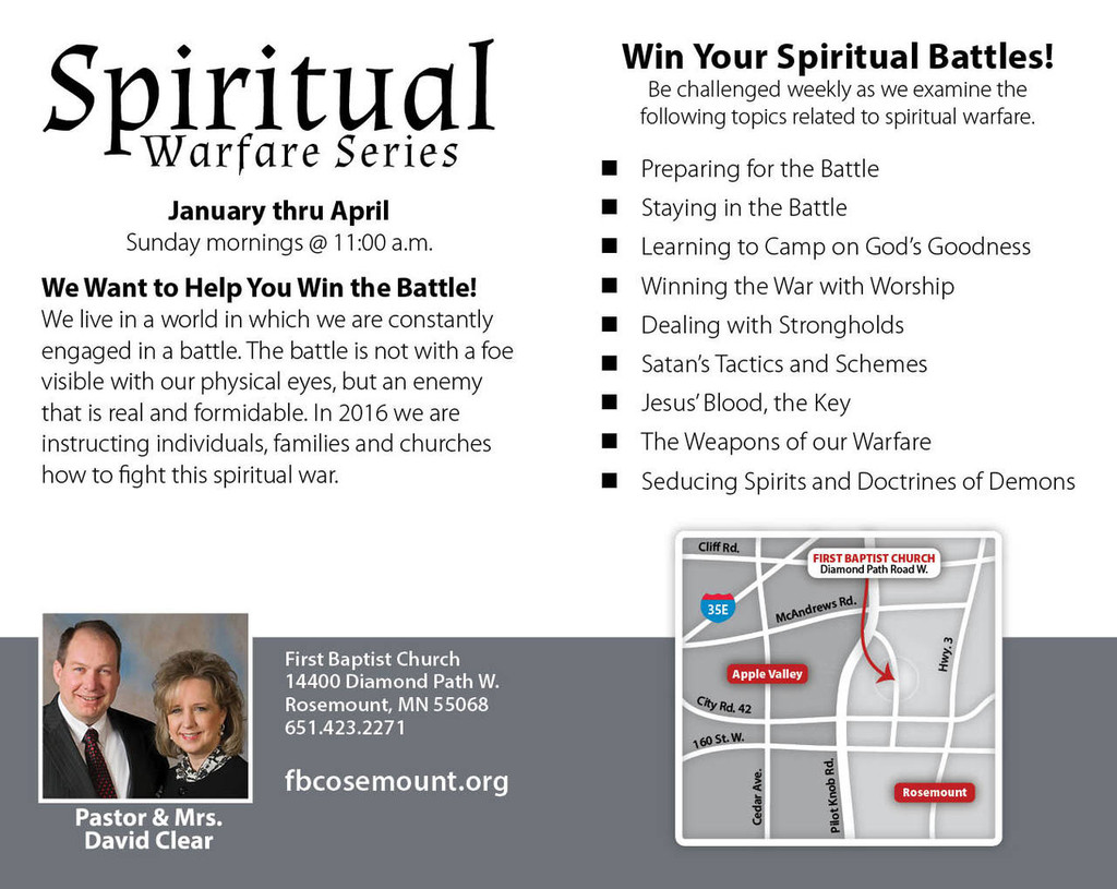Spiritual Warfare Invitation