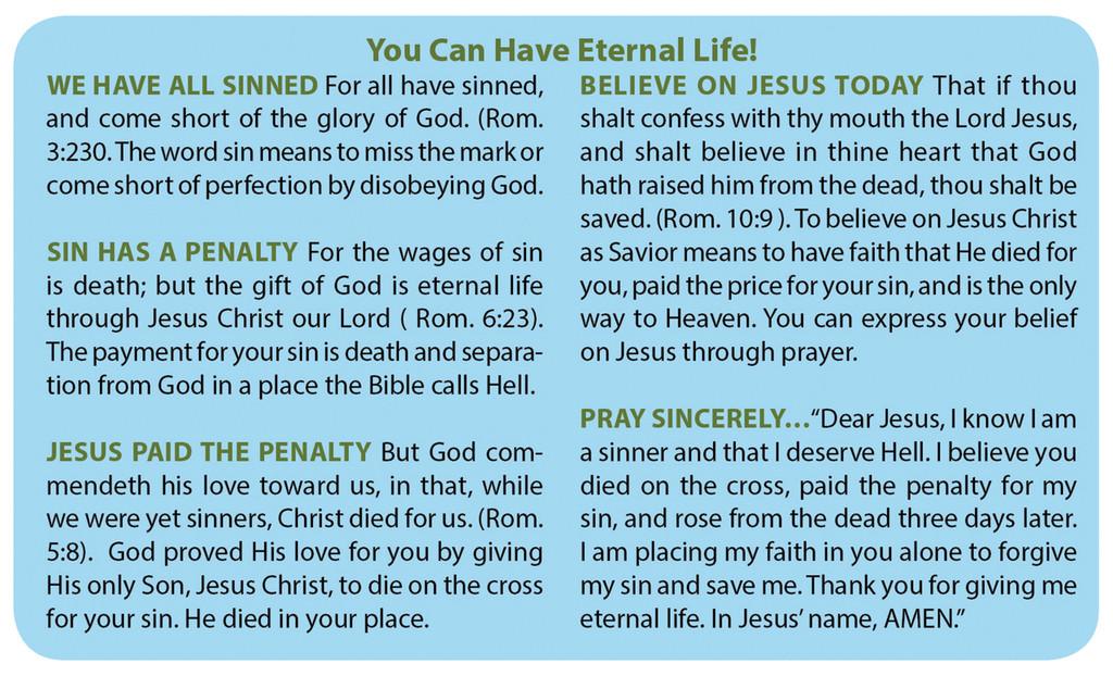 Gospel Card Daisies