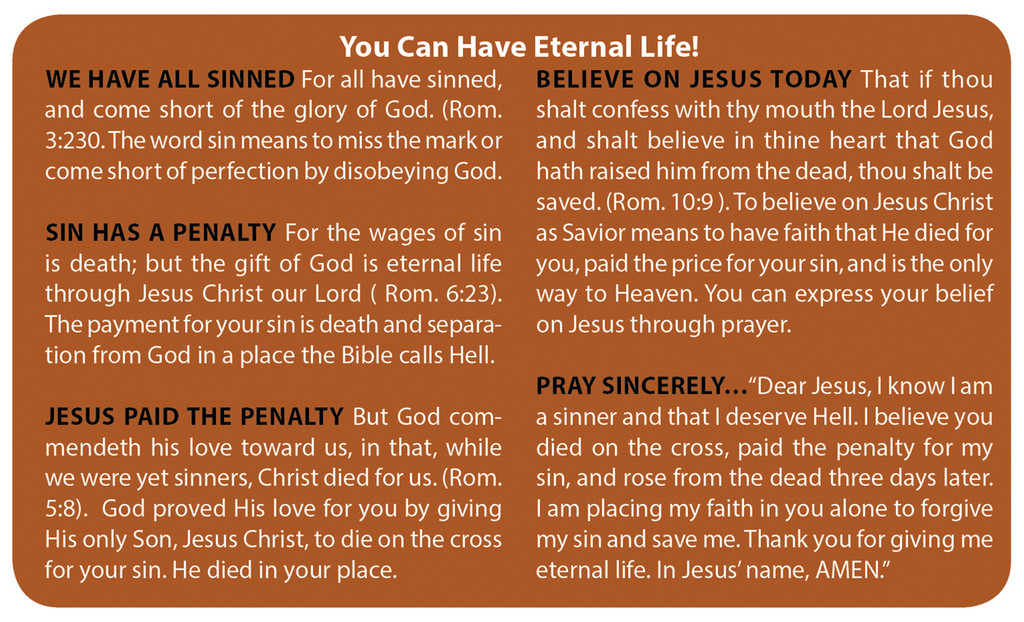 Gospel Card Bright Flowers