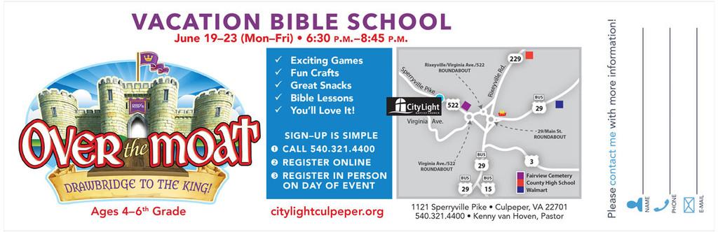 RBP Vacation Bible School 2017