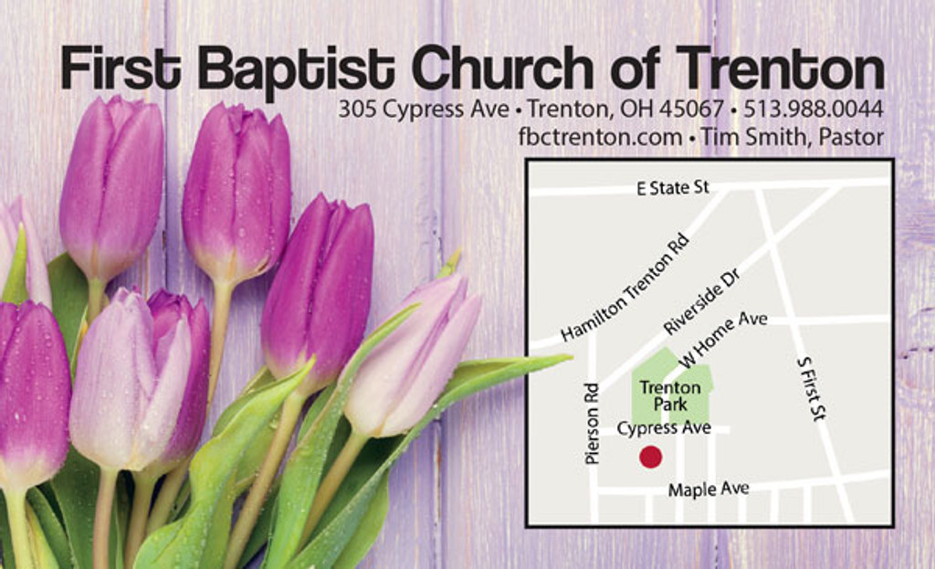 Church Invite Card