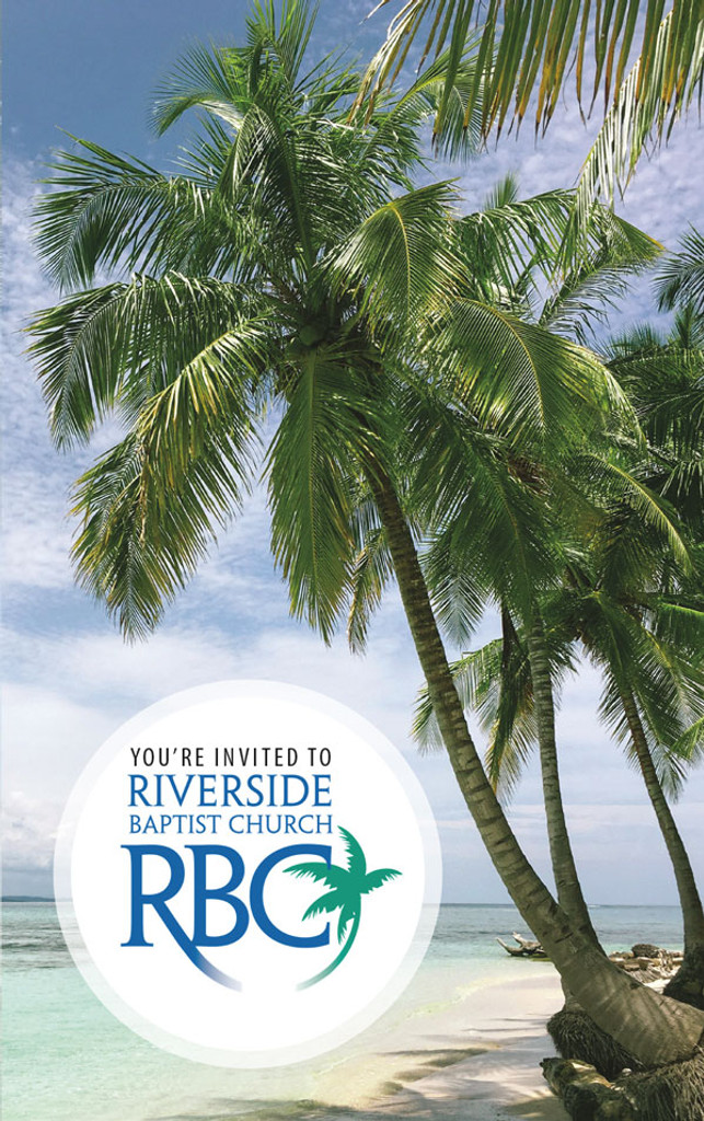 You're Invited Circle Logo Palm