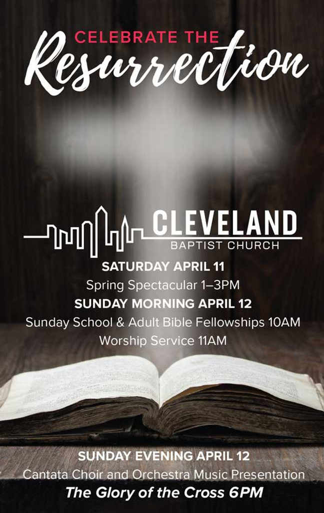 Celebrate the Resurrection Custom Brochure