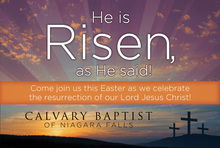 Easter-He Is Risen!